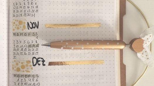 Future Log meines Bullet Journals